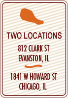 three evanston locations